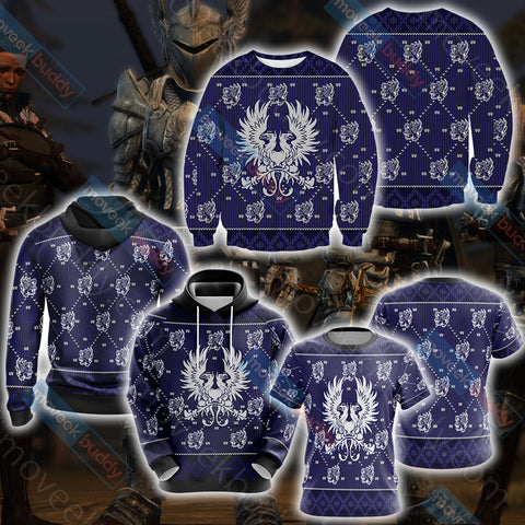 Image of Dragon Age - Grey Wardens Unisex 3D Sweater