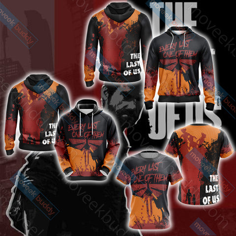 Image of The Last of Us Part Unisex 3D T-shirt