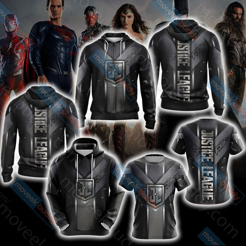 Image of Justice League Unisex 3D Hoodie