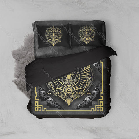 True Heroes Never Die The Legend Of Zelda Bed Set
