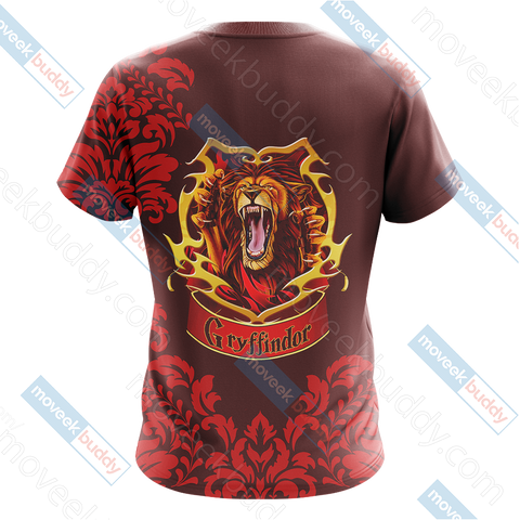 Image of Harry Potter - Brave Like A Gryffindor Version Lifestyle Unisex 3D T-shirt
