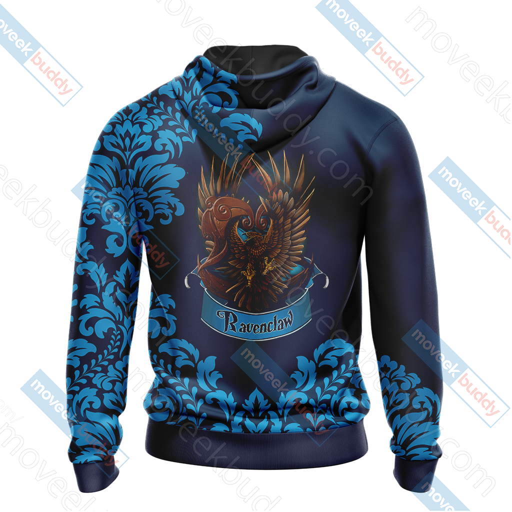 Harry Potter - Wise Like A Ravenclaw Version Lifestyle Unisex 3D Hoodie
