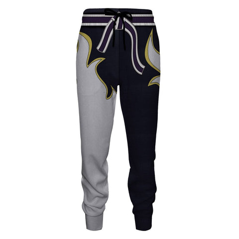 Image of Tekken Jin Kazama White Flame Cosplay Jogging Pants