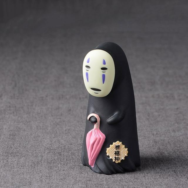 Studio Ghibli Spirited Away No Face Man Action Figure Model 8cm Toys