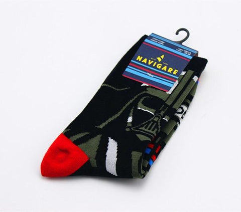 Star Wars Action Figure Cartoon Tube Socks