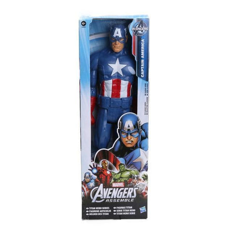 Image of Marvel Avengers Thor Captain America Wolverine Spider Man Iron Man PVC Action Figure Toy Dolls