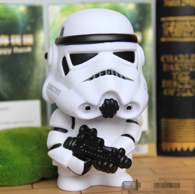 Star Wars Darth Vader Stormtrooper BB 8 Coin Bank Piggy Bank Money Saving Box Money