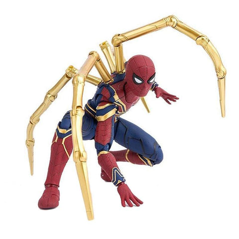 Image of Avengers Infinity War Iron Spider Spiderman Figure Model Toys