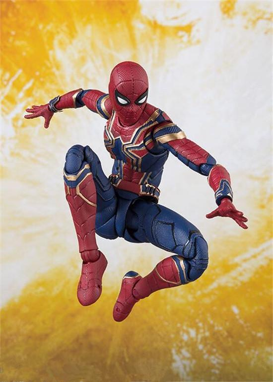 Avengers Infinity War Iron Spider Spiderman Figure Model Toys