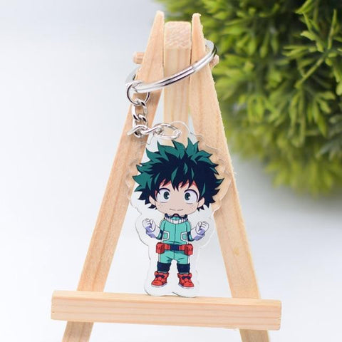 Image of My Hero Academia Action Figure Keychain Keyring