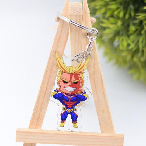 My Hero Academia Action Figure Keychain Keyring