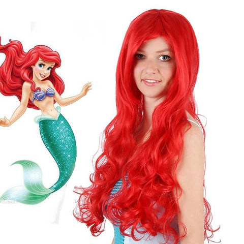 Image of The Little Mermaid Princess Ariel Cosplay Wig