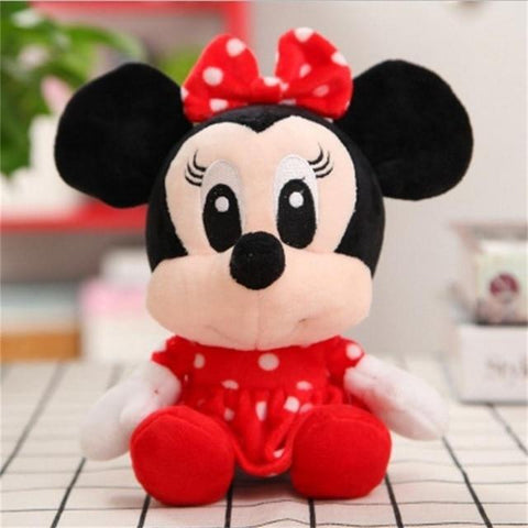 Image of Disney Mickey Mouse Minnie Winnie Pooh Lilo Piglet Doll