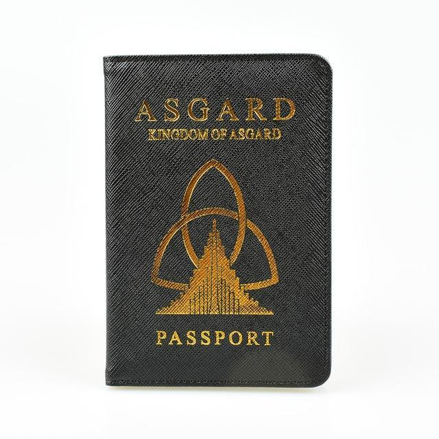 Wakanda Asgard Passport Wallets Purse