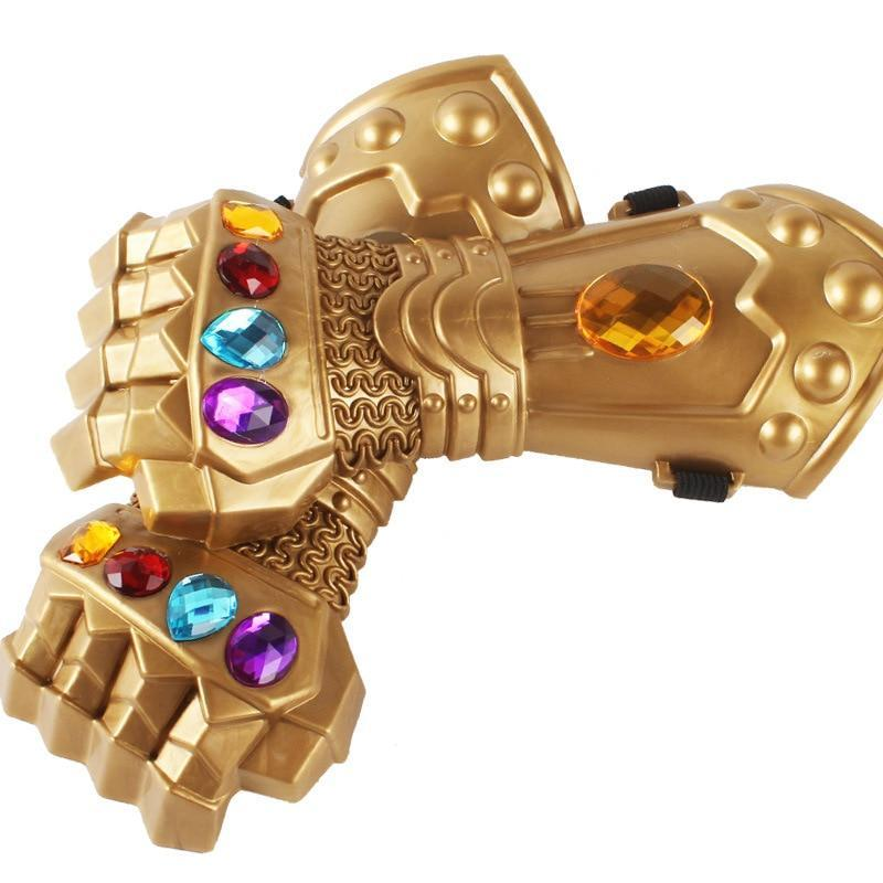Avengers 3 Infinity War Thanos PVC Gloves Action Figure Model Toys