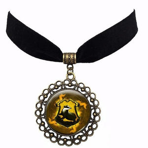 Harry Potter Logos Action Toys Figure Ball Necklace Pendant