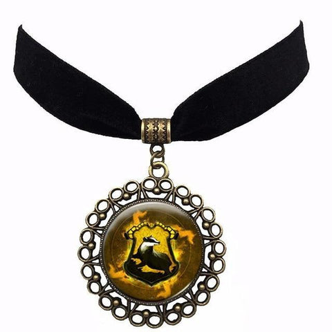 Image of Harry Potter Logos Action Toys Figure Ball Necklace Pendant