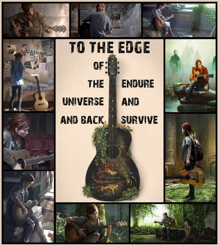 The Last Of Us Endure And Survive 3D Bed Set