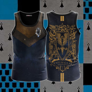 Ravenclaw Edition Harry Potter New 3D Tank Top