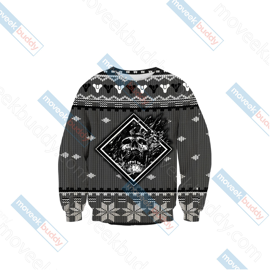 Destiny 2 Winter Style Unisex 3D Sweater