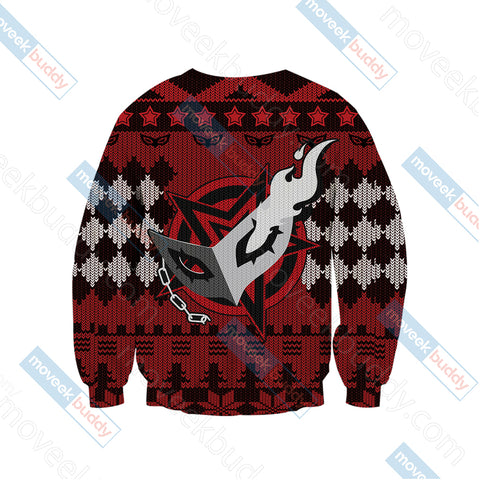 Persona 5 Christmas Style 3D Sweater