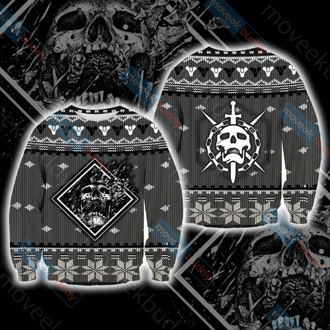 Image of Destiny 2 Winter Style Unisex 3D Sweater