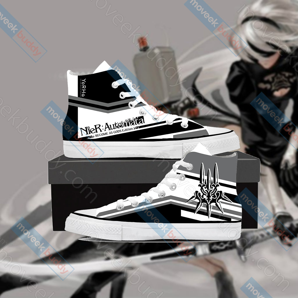Nier Automata High Top Shoes