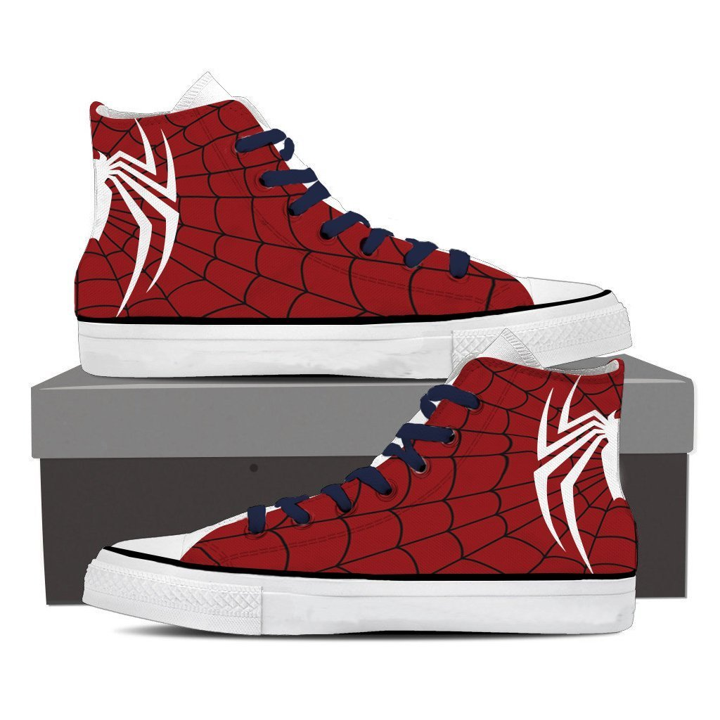 Spider-Man PS4 New Look High Top Shoes
