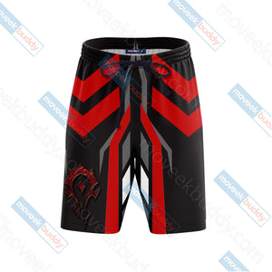 World Of Warcraft - Horde New Version Beach Shorts