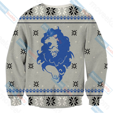 Image of Fire Emblem :Three Houses The Blue Lions Christmas Style Unisex 3D Sweater