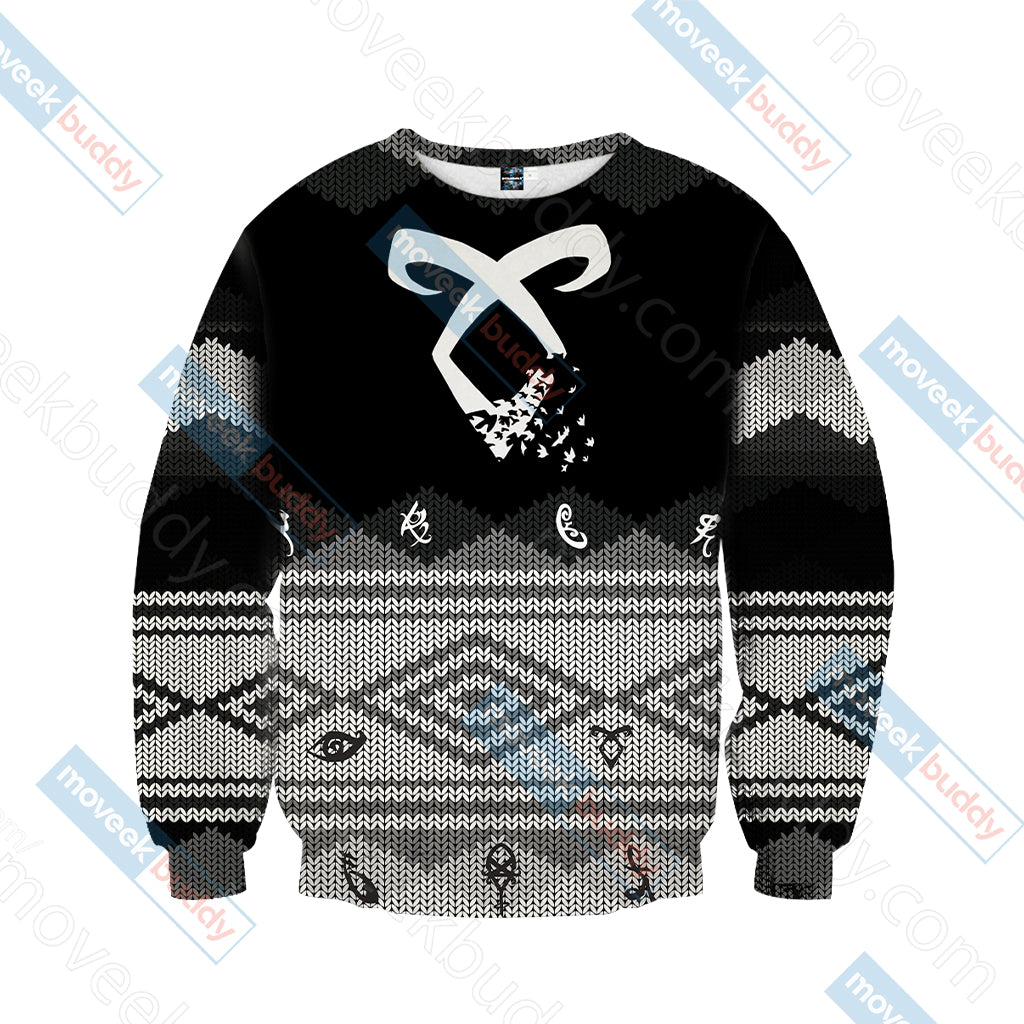 Shadowhunters All Legend Are True Unisex 3D Sweater