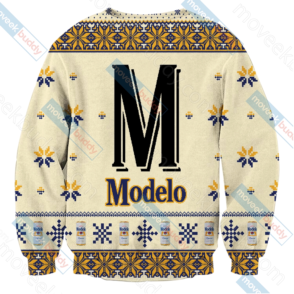 Modelo Version 3 Knitting Style Unisex 3D Sweater