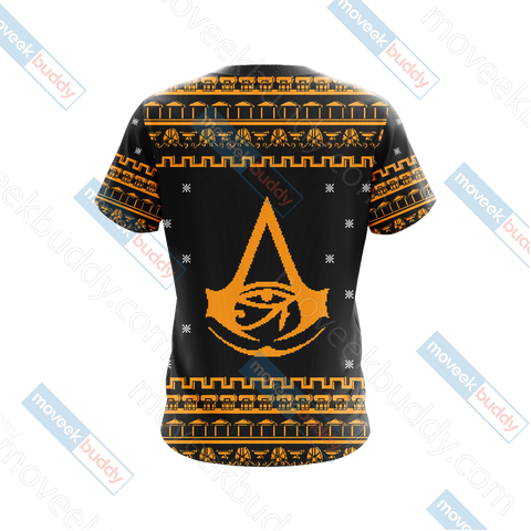 Image of Assassin's Creed - Origins Knitting Style Unisex 3D T-shirt