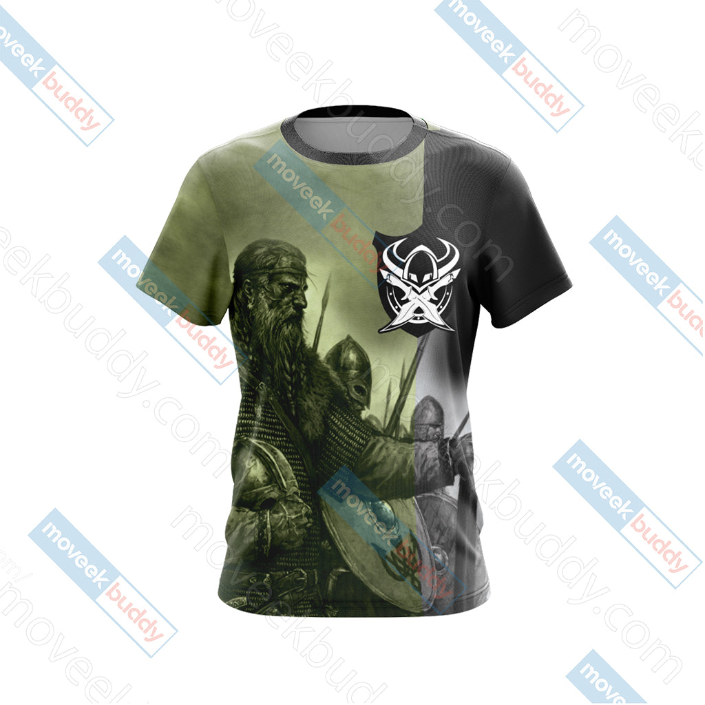 Vikings Unisex 3D T-shirt