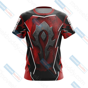 World Of Warcraft - For The Horde Unisex 3D T-shirt