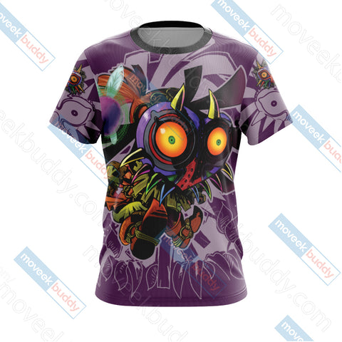 Image of The legend of Zelda: Majora Unisex 3D T-shirt