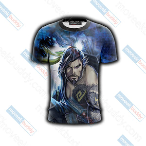 Overwatch - Hanzo New Version Unisex 3D T-shirt