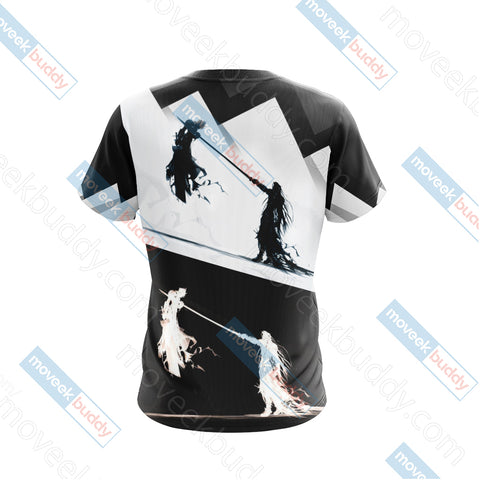 Image of Final Fantasy 7 - Sephiroth v Cloud Unisex 3D T-shirt