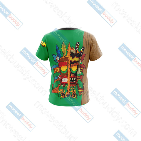 Image of Crash Bandicoot New Unisex 3D T-shirt