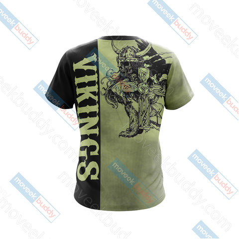 Image of Vikings Unisex 3D T-shirt