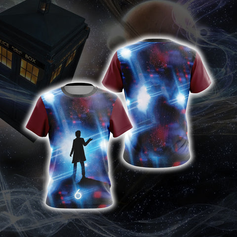 Doctor Who - Sixth Doctor Unisex 3D T-shirt