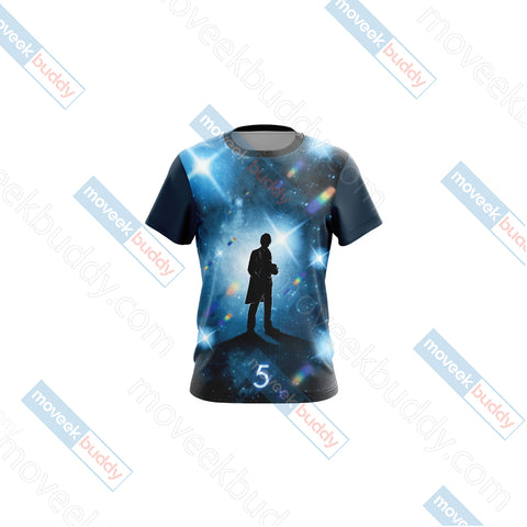 Doctor Who - Fifth Doctor New Unisex 3D T-shirt