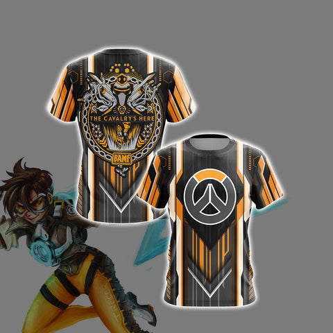 Overwatch - The Cavalry's Here Unisex 3D T-shirt