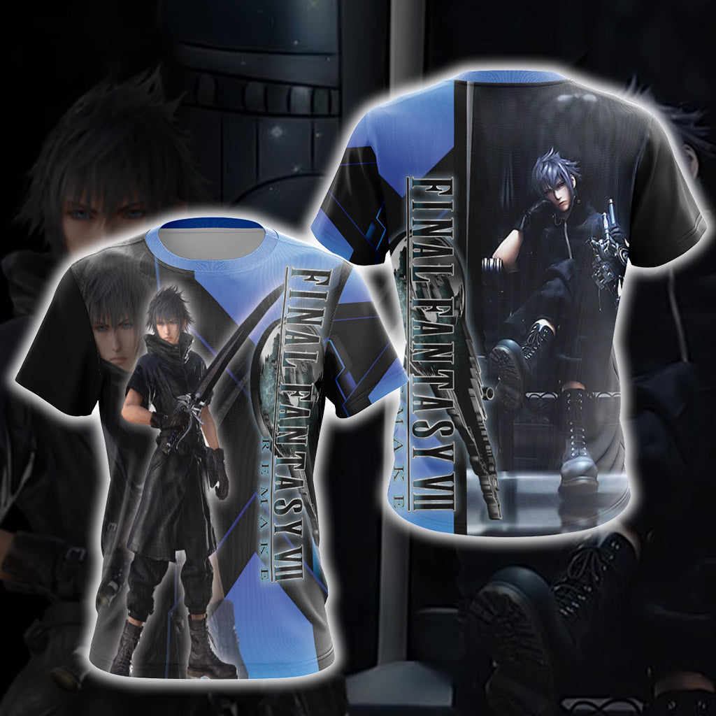 Final Fantasy New Version Unisex 3D T-shirt