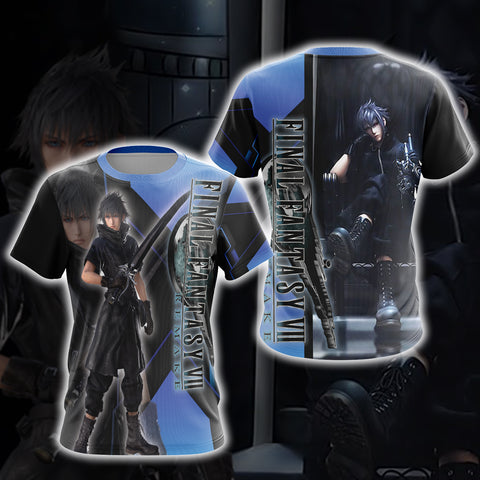 Image of Final Fantasy New Version Unisex 3D T-shirt