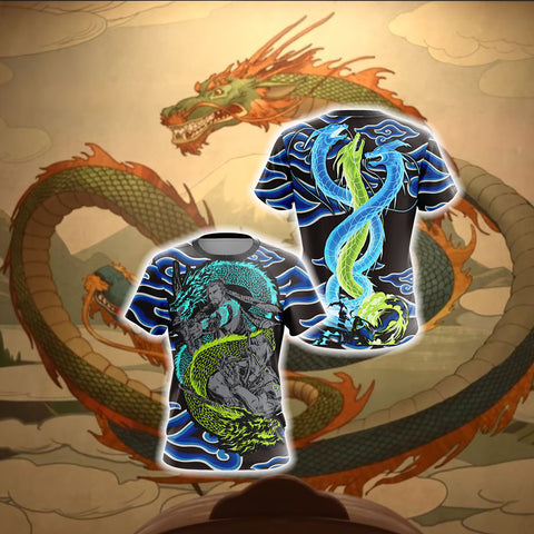 Overwatch Dragons Unisex 3D T-shirt