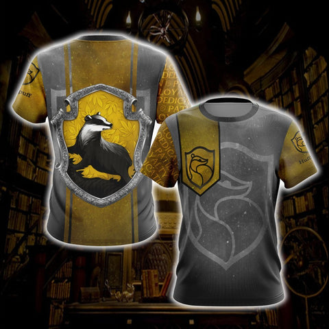 Loyal Like A Hufflepuff Harry Potter New Style 1 Unisex 3D T-shirt