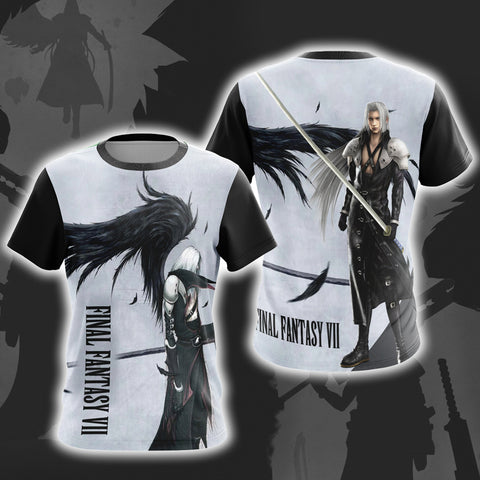 Image of Final Fantasy 7 Sephiroth Unisex 3D T-shirt