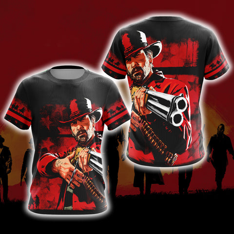 Image of Red Dead Redemption 2 New Version Unisex 3D T-shirt