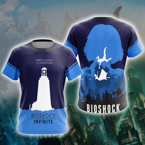 Image of BioShock Infinite There's Always A Lighthouse New Unisex 3D T-shirt